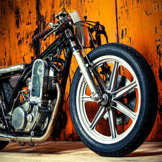 Yamaha SR500 «Sound of Single» от Kingston Custom
